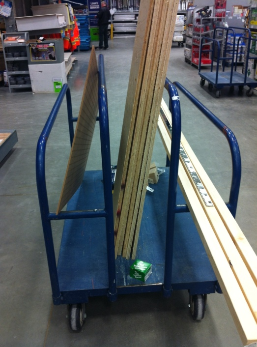 Getting all the pieces - I heart Lowes