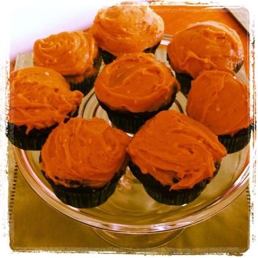 Mmm Peanut Butter Cupcakes