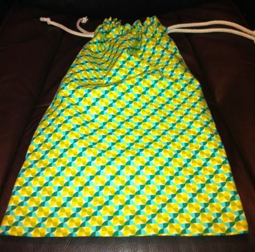 The perfect drawstring bag