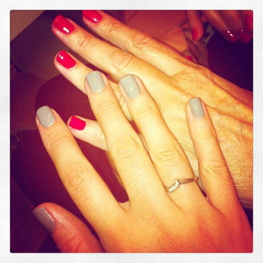 Mother-Daughter Manicures!