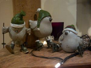 Fat Christmas Birds